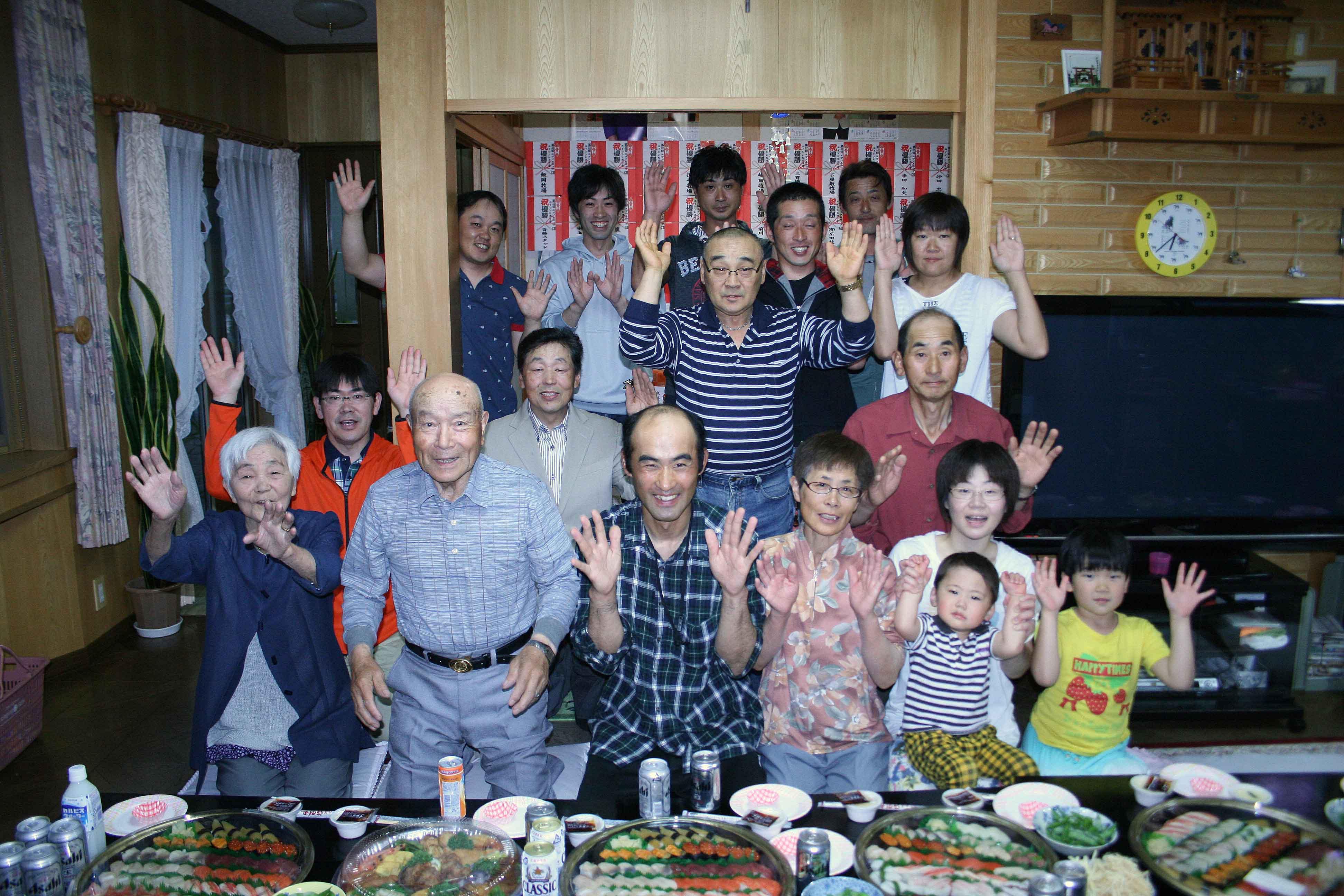 エイシンヒカリ祝賀会02