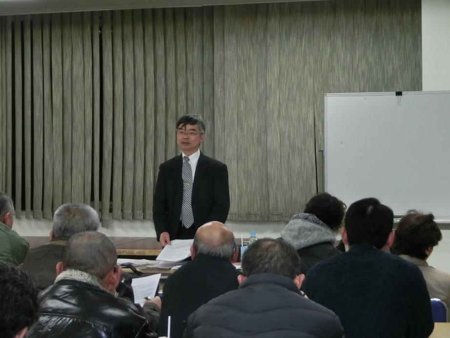 小野健一氏による講習会の様子